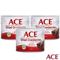 【ACE】大蔓越莓乾 3罐入(180g/罐)