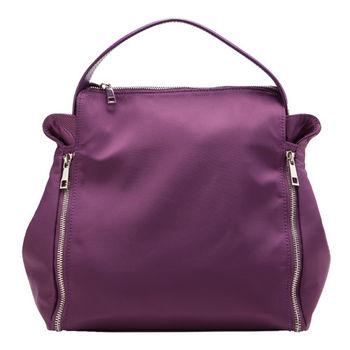 M2nd 正韓版莎莉甜心牛皮隨性包 (紫色)