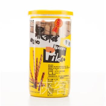 黑師傅捲心酥-牛奶口味200g x3罐組