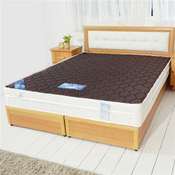 【時尚屋】6尺英式經典雙色三線獨立筒彈簧床墊GA15-6