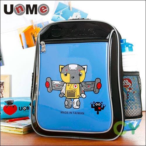 【UnMe 機器人】率性輕量後背書包(寶藍色)