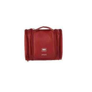 【NatureHike】旅行盥洗包-旅行 收納包 化妝包 吊掛式 酒紅