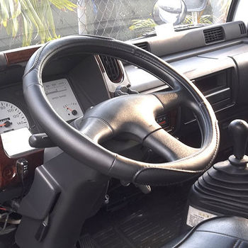 CARBUFF 車痴(卡車用)柔軟舒適皮方向盤套(2L-3L) MH-9005
