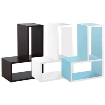 【尼克斯】創意變化收納櫃 (一組4入) - 三色可選