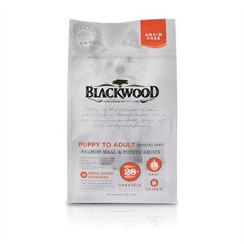Blackwood 柏萊富 無榖全齡低敏挑嘴(鮭魚+碗豆) 狗飼料 5磅*1包