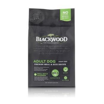 Blackwood 柏萊富 低卡保健 老犬 減肥犬(雞肉+米) 狗飼料 5磅*1包