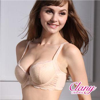 【可蘭霓Clany】絕代佳人雙卉蕾絲調整型BC內衣(春漾膚 6622-11)