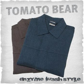 【TOMATO BEAR】時尚型男厚磅純棉夾克(M-XL)2件組