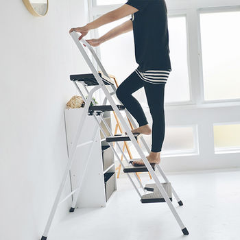 《舒適屋》簡約五層可折疊A字椅/家用梯/樓梯椅