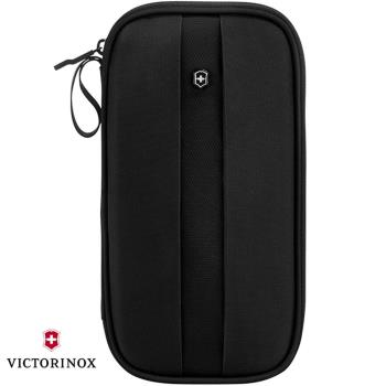 VICTORINOX 瑞士維氏TA4.0 RFID尼龍證件包-黑 31372801