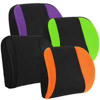 CARBUFF 車痴竹炭透氣加強記憶護腰/寬幅加大、加軟設計(紫/綠/橘/黑) MH-10162