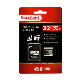 Gigastone 立達 microSDHC Class10 UHS-I U1 32G記憶卡(附轉卡)