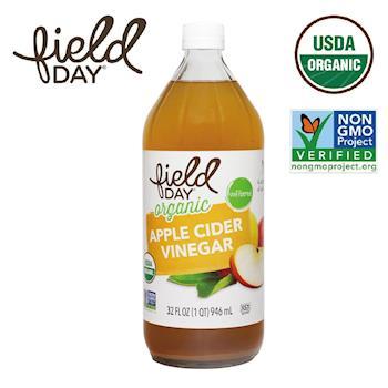 【Field Day 踏青日】美國原裝進口 有機蘋果醋(946mL)