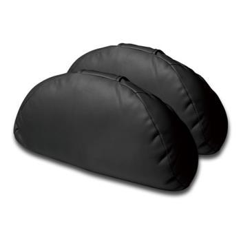 3D 柔軟皮大頭枕 2入裝