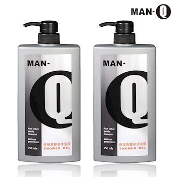 【MAN-Q】檸檬馬鞭草沐浴精750mlX2