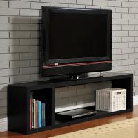 【咱的厝】DIY現代感簡約電視櫃/置物櫃/收納櫃(黑色)
