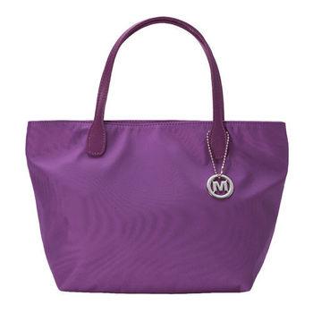 【M2nd】經典輕便手提托特包 (紫色)