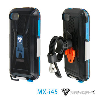 ARMOR-X MX-i45 全防水手機殼 for iPhone 4/4S/5/5S/5C (黑)