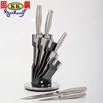 【保麗晶】一體成形高級不鏽鋼刀組 BBA-SS-001