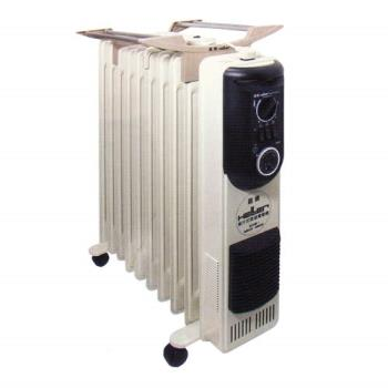 HELLER嘉儀 十二片葉片式電暖爐 KE-212TF