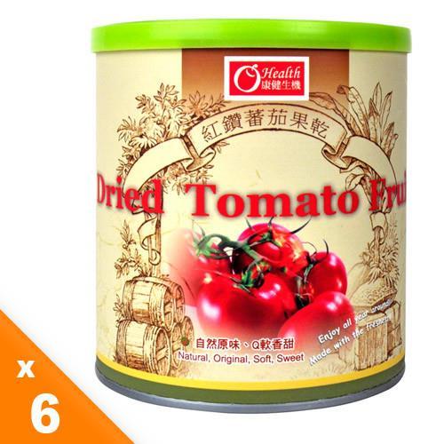 【有機園】紅鑽蕃茄乾6入組