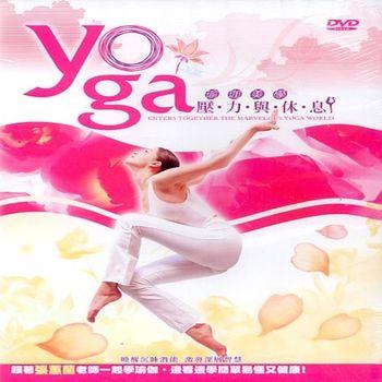 瑜珈美學壓力與休息DVD