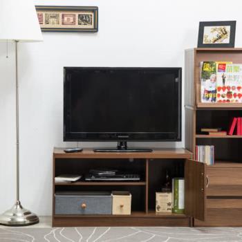 【尼克斯】簡易單門二格電視櫃