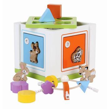 益智解鎖配對積木寶盒