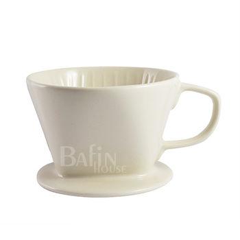 【Bafin House】Welead 102 陶瓷咖啡濾杯 2-4人份 (白)