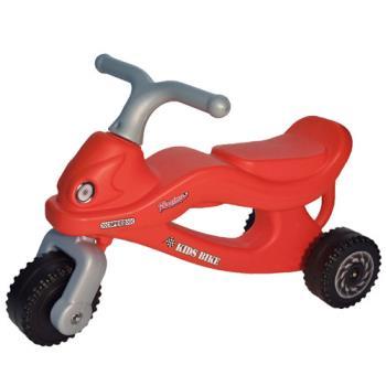 寶貝樂 撞色機器人學步車/助步車-紅色