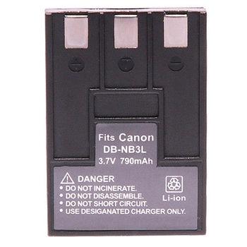 Kamera 鋰電池 for Canon NB-3L(DB-NB3L)