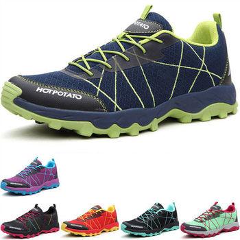 (預購)【JHS杰恆社】HP6009夏新款徒步鞋男越野跑鞋女防滑透氣情侶登山鞋(HOTPOTATO)
