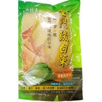 金門縣老農莊 金門酸白菜600g x4包+牛肉乾4包