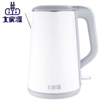 大家源-不鏽鋼防燙無縫快煮壺1.8L(TCY-2628)