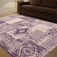 【Ambience】比利時infinity 現代地毯 -印地安(紫) (133x195cm)