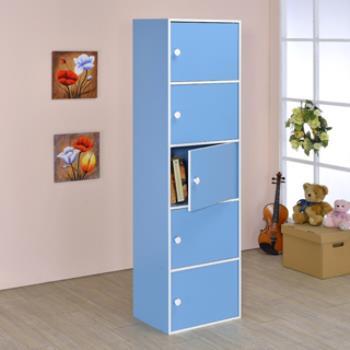 【傢俱屋】五層門櫃-五色