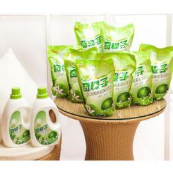 【奇檬子】天然檸檬生態濃縮洗衣精2罐x2000ml+8包x2000ml(SGS檢驗合格)-網