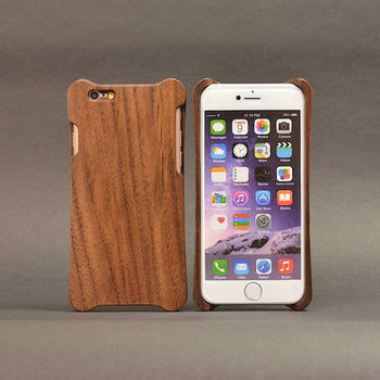 iPhone 6/6S Plus 5.5吋 胡桃木木殼-行動