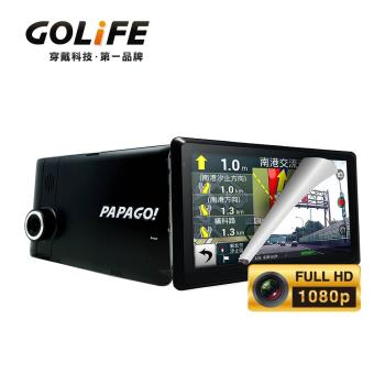 PAPAGO! GoPad DVR7 多功能Wi-Fi行車記錄聲控導航平板