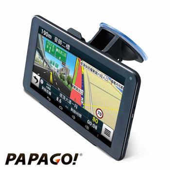 PAPAGO! GoPad 7超清晰Wi-Fi 聲控導航平板~附加行車記錄器功能 ★降價再送好禮↘旅行收納盥洗包★