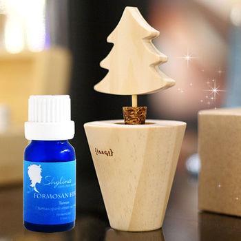 Shylina 植木自然薰香盆栽(神聖木) +100%檜木精油(10ML)