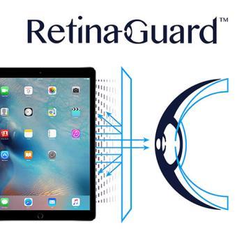 RetinaGuard 視網盾 iPad Pro 眼睛防護  防藍光保護膜 透明
