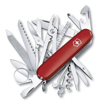 VICTORINOX 瑞士維氏33用冠軍瑞士刀-紅 16795