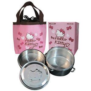 【Hello Kitty】不鏽鋼便當盒 KS-8135