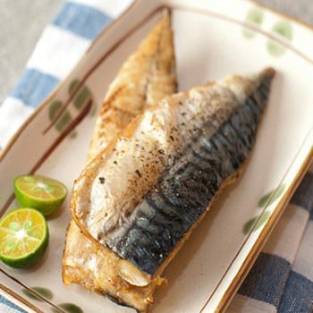 好神 台灣鮮凍鯖魚一夜干10片(170g/片) 買一送一共20片