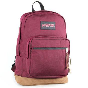 JanSport校園背包(RIGHT PACK)-赤褐色
