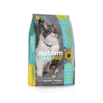 Nutram 紐頓 專業理想系列-I17室內貓化毛貓雞肉燕麥6.8公斤