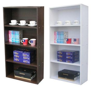 【Dr. DIY】寬60公分(四格)書櫃/收納櫃(二色可選)