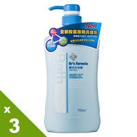 《台塑生醫》Drs Formula嬰兒沐浴精700ml(3瓶)