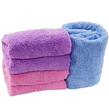 OMAX超吸水長絨毛大浴巾(150*75cm)-2入